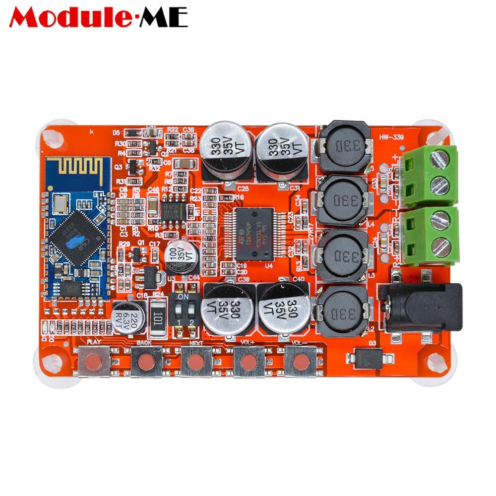 TDA7492P 50 w + 50 w Senza Fili di Bluetooth 4.0 Ricevitore Audio Amplificatore Digitale Consiglio di 2.1 Interfaccia 8 ~ 25 v DC di Alimentazione