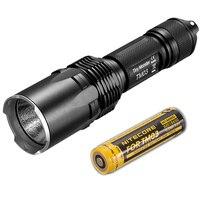 Linterna táctica LED NITECORE Tiny Monster TM03 4xCREE XHP70 de 2800 lúmenes con batería recargable 18650 para caza  envío gratis