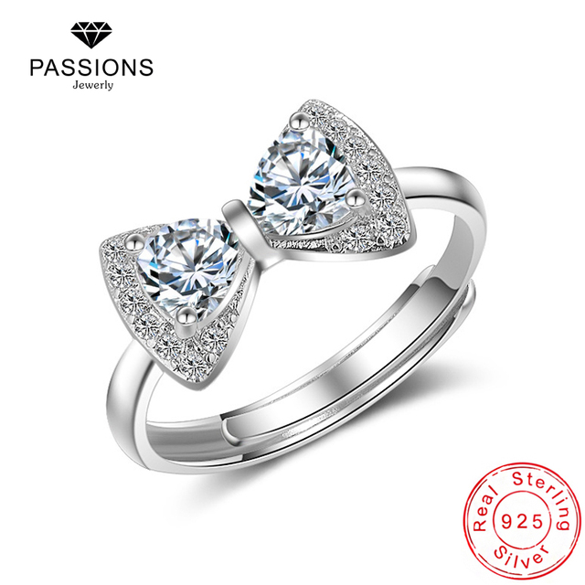 lookbook women womens bow for king baby pav cz pave ring rings image products