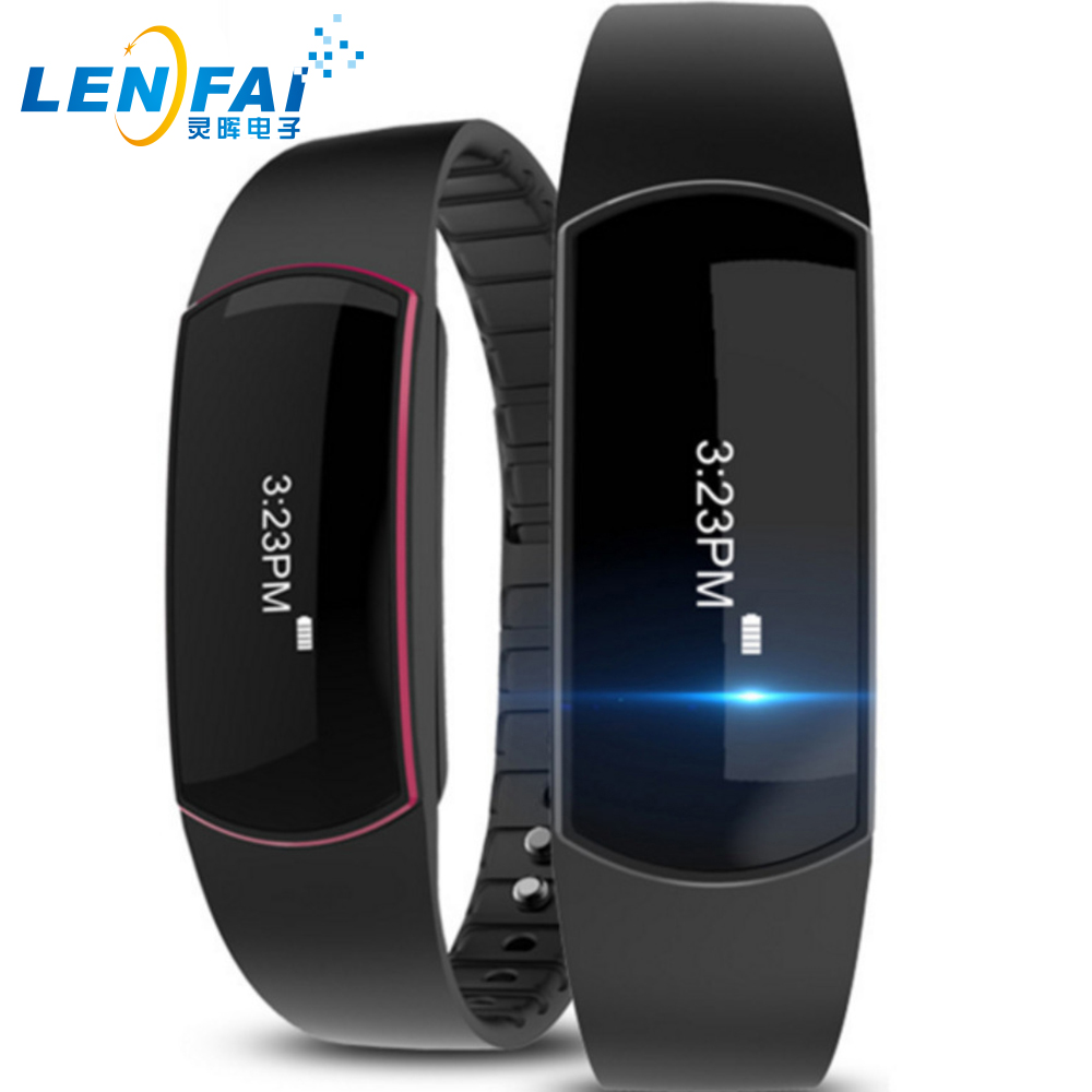 SH07 OLED Smart Bracelet Bluetooth Sports Wristband Waterproof Pedometer Sleep Tracker Call Reminder For Android IOS