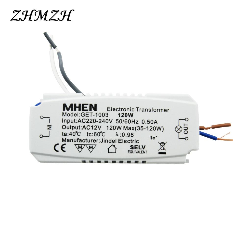 JINDELI AC220V į AC12V elektroninis transformatorius 60W 105W 120W - Apšvietimo priedai - Nuotrauka 6
