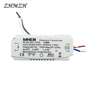 Image 5 - JINDELI AC220V To AC12V Electronic Transformer 60W 105W 120W 160w For G4 Crystal Halogen lamp Bead CE Lighting Transformers