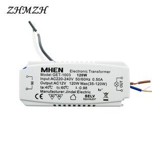 Image 5 - JINDELI Transformador electrónico AC220V a AC12V, 60W, 105W, 120W, 160w, para lámpara halógena de cristal G4, cuentas, transformadores de iluminación CE