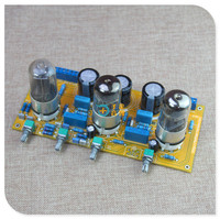 6Z5 أنبوب تصحيح 6N8P أنبوب أمبير Preamp فراغ أنبوب المضخم مجلس مع لهجة-في مكبر صوت من الأجهزة الإلكترونية الاستهلاكية على
