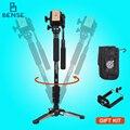 Yunteng vct288 profesional de vídeo kit + fluid pan head + unipod monopod holder para canon nikon sony dslr fotos/mini película