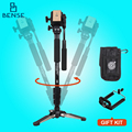 Yunteng vct288 vídeo profissional kit + cabeça pan fluido + titular unipod monopé para canon nikon sony dslr fotos/mini filme