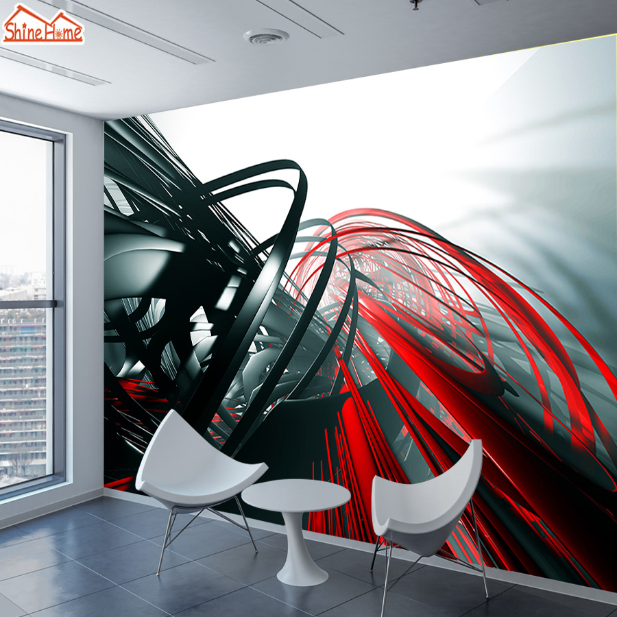 Murals Photo Wallpaper For Walls In Rolls 3d On The Wall Wallpapers Paper Home Decor 3 D Abstract Decoration Papel Technology