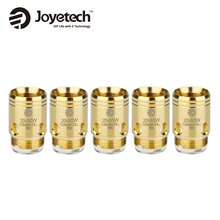 100% Original 5pcs Joyetech EX Coil Heads 1.2ohm Coil /0.5ohm Coil for Exceed Series Tank Atomizer E-cigarette DL/MTL Coil Heads