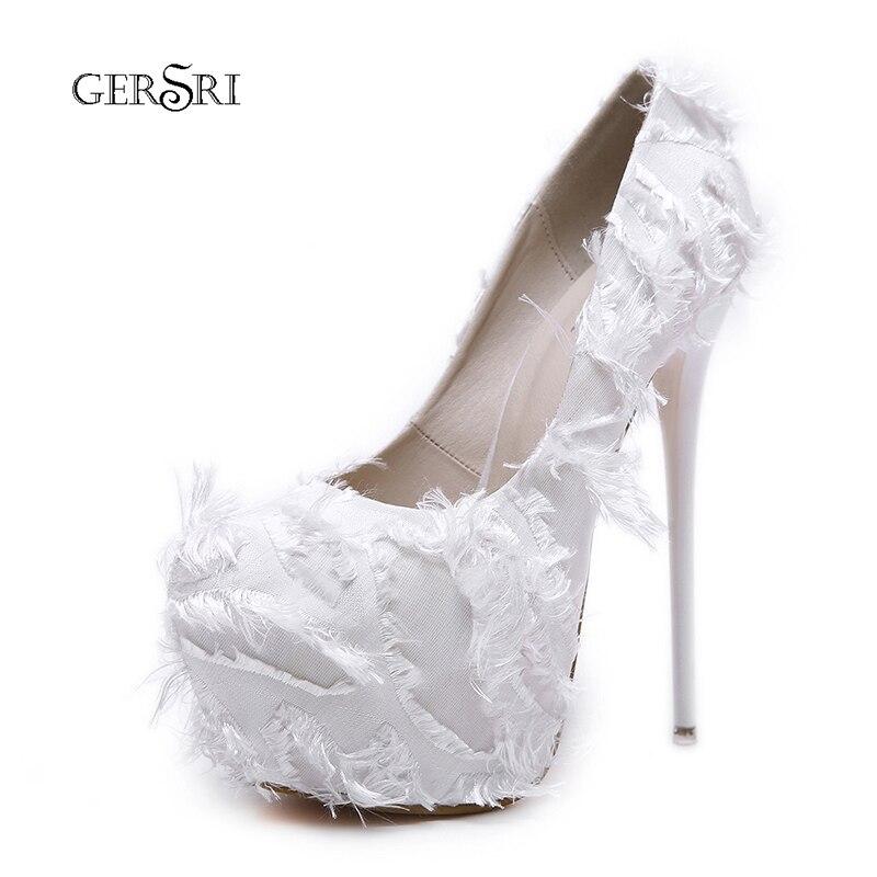 972b496562 Dedo Gersri 5 5 Otoño Mujer Tacones Zapatos Boda 16 5 Black Sexy Del  Mujeres Redondos wine white Cm De Pie Plataforma Bombas Red ...
