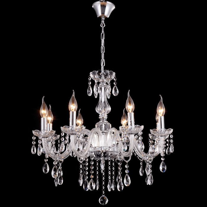 Modern vintage transparent crystal chandelier antique lucid hanging lamp For Foyer living room bedroom dinning room прибор для авто oem 3 in1 12v 24v 68050