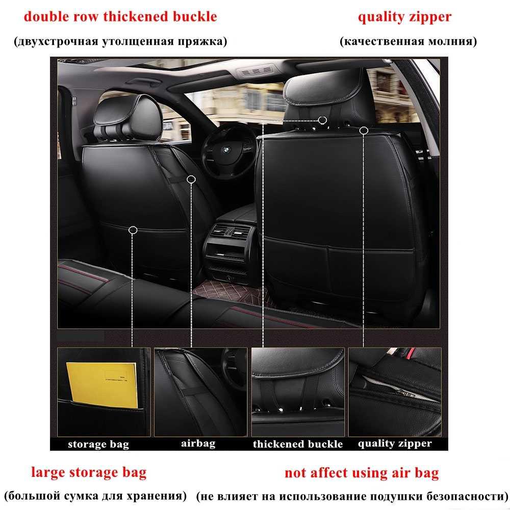 Housse de siège de voiture pour KIA rio Sorento Magentis Opirus Carens Ceed rio 3 VQ KCV4 Stinger K900 Stonic Forte Cadenza K9 Niro Borreg