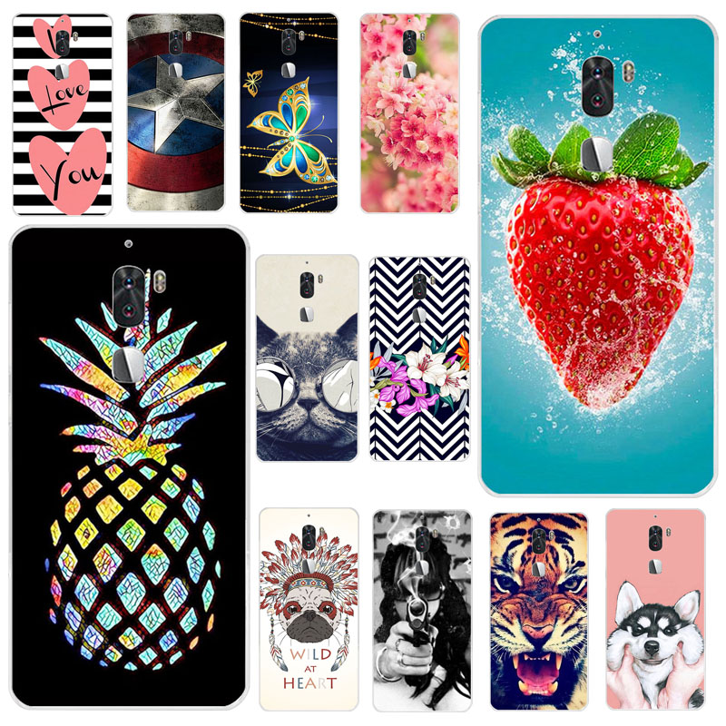 Phone Case For Letv Cool 1 Letv LeEco cool 1 Dual Case Silicone Cover For Leeco Coolpad Cool1 Soft TPU Cover Capa Back Fundas