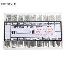New 360pcs 8-25mm Watchmaker Watch Band Repair Spring Bar Link Pins Band Strap Tool Parts for Watch Repair Tool Kit Accessories
