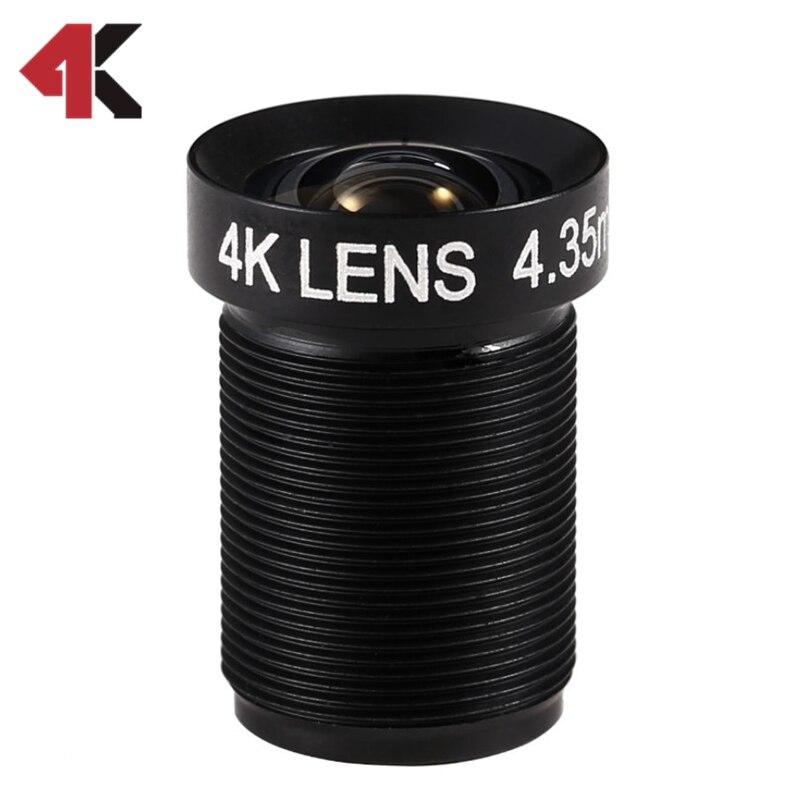4,35 MM Objektiv 1/2. 3 Zoll 10MP HFOV 72D Flache 4 Karat Objektiv für Gehen pro Xiaomi Yi SJCAM DJI Phantom 3/4 Drohnen 2017 Neu Hot Kamera objektiv