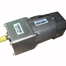 AC 220V 120W однофазный двигатель с постоянной частотой вращения с коробкой передач. Мотор-редуктор переменного тока