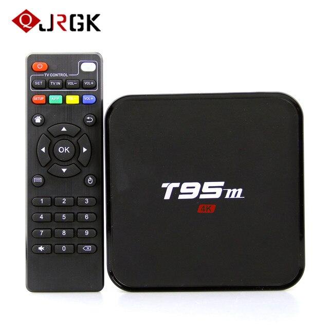 JRGK Smart TV Box Amlogic S905X box tv Android 7.1 Box Media Player 2GB 8GB H.265 4K HDMI2.0 LAN 100M WiFi Set Top set-top Box