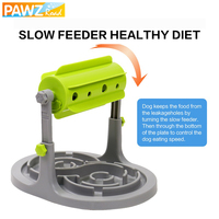 Dog Food Toy 2 in 1 Fun leakage Food Slow Eating Dog Food Treat Feeder Ball IQ Training Exercise Prevent Obesity Dog Cat Bowl