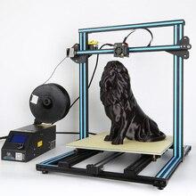 3D printer CR-10 5S Dual-Z Rod Reprap Prusa i3,Filament Monitoring Alarm,200g Filament+Hotbed+8G SD card+Tools Creality 3D