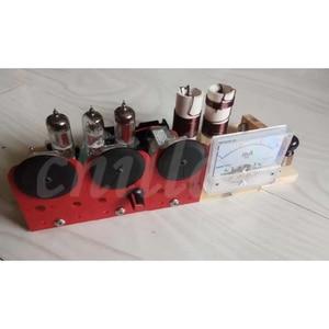 Image 2 - Electronic tube three lamp QRP station electronic tube radio transceiver 7.023 7.050 transceiver kits dual purpose
