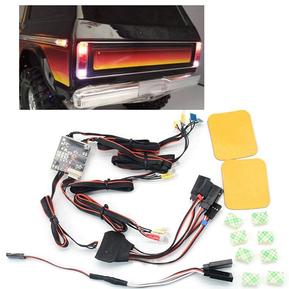 XBERSTAR flash rapide lampe Led clignotant lumières pour TRAXXAS TRX4 T4 Land Rover garde Ford OP mise à niveau RC voiture pièces accessoires