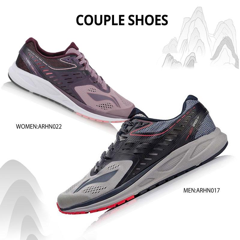 Li-ning femmes chaussures de course FLASH Anti-glissant doublure respirante confort coussin baskets chaussure de Sport portable ARHN022 XYP676 - 6