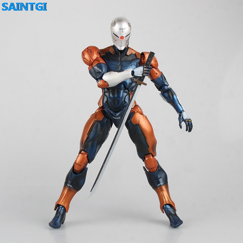 SAINTGI Metal Gear Solid SOLID PVC 23CM Action Figure Collection Game Model Dolls Kids Toys brand new animals action figure toys mother wild horse 12cm length pvc figure model toy for gift collection kids school study
