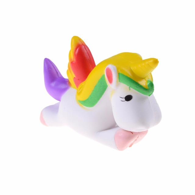 BLoves Squishy Unicorn Cute 3D Squeeze Slow Rising Recover Fun Kids Adult Toys Anti Stress Relief Adult Reliever Squishy Animals