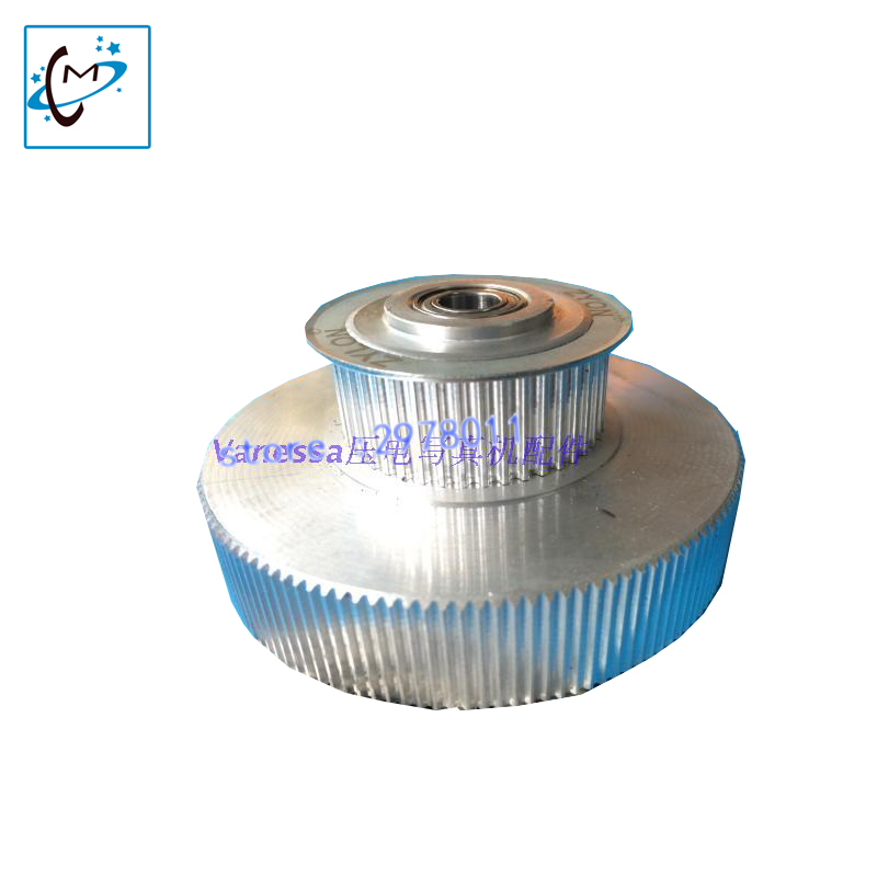 Hot sale !! Piezo Printer spare parts Mimaki  JV33 JV5  motor pulley Tower  driven gear 1set best price mimaki jv33 jv5 ts3 ts5 piezo photo printer encoder raster sensor with h9730 reader for sale 2pcs lot