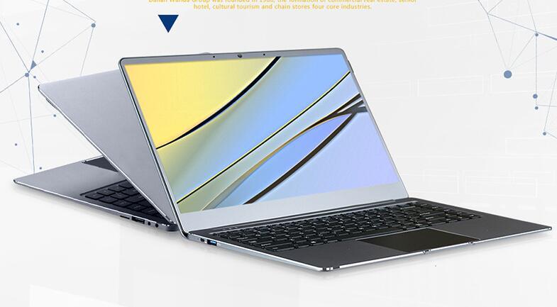 Новая версия книги 14 дюймов алюминия ультратонкий 6 ГБ DDR3 64 ГБ SSD Бизнес ноутбук Windows 10 Wi-Fi камера Intel n3450 HD Ultrabook