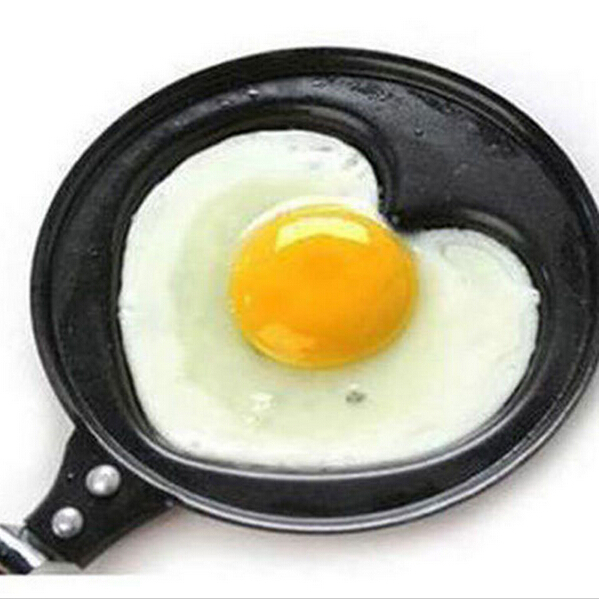 Lovely BBQ Heart Shape fried egg mold Cake Pan Outdoor Kitchen Non-stick Poacher Pot Mold Cookware Pancake kitchen gadgets