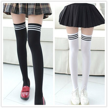 Newly 1 Pair Fashion Ladies Thigh High Over Knee Socks Girls Womens New Stockings Hot Slae Dorpship 30P1024