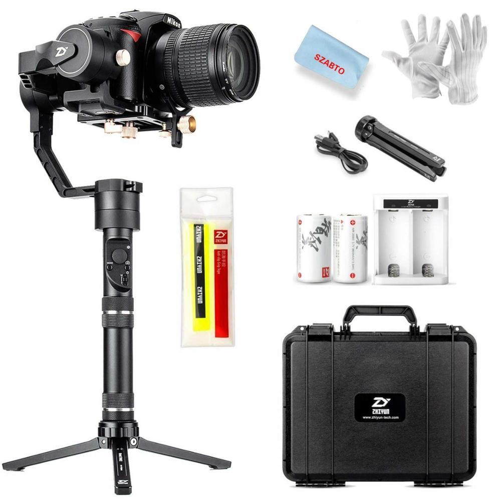 ZHIYUN Crane Plus 3-Axis Handheld Gimbal Stabilizer For Mirrorless DSLR Camera For Sony A7/Panasonic LUMIX/Nikon J/Cano