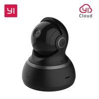 YI Dome Camera EU Edition Pan Tilt Zoom Wireless IP Security Surveillance System 1080P HD Night