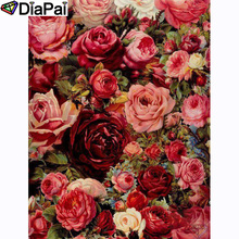 DIAPAI 100% Full Square/Round Drill 5D DIY Diamond Painting Flower landscape Diamond Embroidery Cross Stitch 3D Decor A20848 diapai 100% full square round drill 5d diy diamond painting flower landscape diamond embroidery cross stitch 3d decor a21095