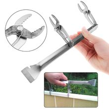 Pro Beehive Clip Stainless Steel Frame Capture Clamp Grasp With Knife Bee Case Cap Beekeeping Tools Equipment Clips