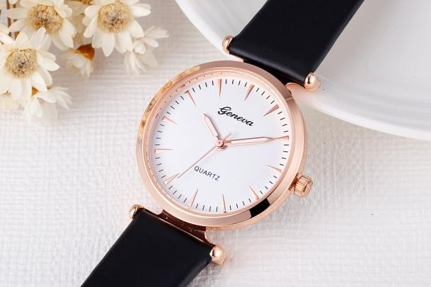 Women Fashion Watch Leather Band Analog Alloy Quartz Wrist Watch fashion watches fashion split leather band quartz analog bracelet wrist watch for women black 1 x 377