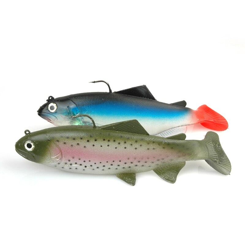 Soft bait Luoya simulation fish 19cm / 137g simulation of deep-sea fish 2 colors sea of spa крем морковный универсальный 500 мл