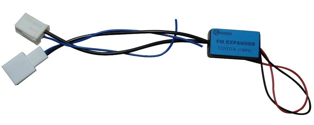 20MHz autorádio FM páska EXPANDER Frekvenční měnič pro Toyotu