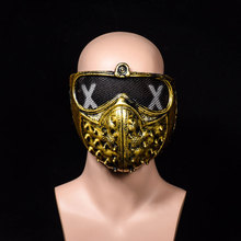 Game Watch Dogs 2 WD2 Mask Marcus Holloway Wrench Cosplay Rivet Face Mask Half Face Latex Mask Party Decoration Cosplay Props-in Party Masks from Home & Garden on Aliexpress.com | Alibaba Group