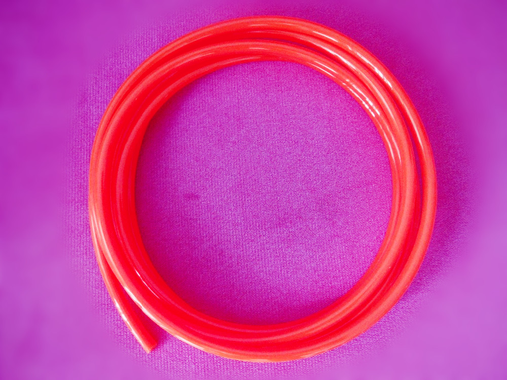 Free Shipping Pneumatic Component PU Tube Air Hose Pipe PU OD12mm*ID8mm Red цена