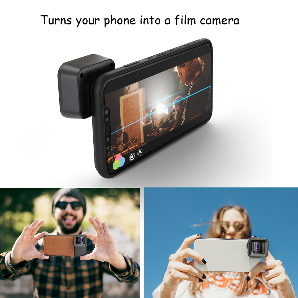 APEXEL HD Anamorphic Lens 1 33x WideScreen Video Movie Mobile Phone camera Lens lente for Vlog iPhone Huawei Samsung smartphones in Mobile Phone Lens from Cellphones Telecommunications