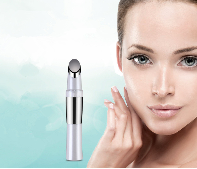Home RF face massage negative iontophoresis apparatus rechargeable massage apparatus cold and hot ultrasonic Facial Massager