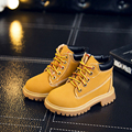 New Korean Children Martin Boots 2017 Children's Shoes Yellow In Autumn Fashion Casual Shoes for Boys and Girls Hot Sale
