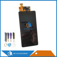 Black White Color For Highscreen Power Five 5 For Highscreen Power Five Pro LCD Display Touch
