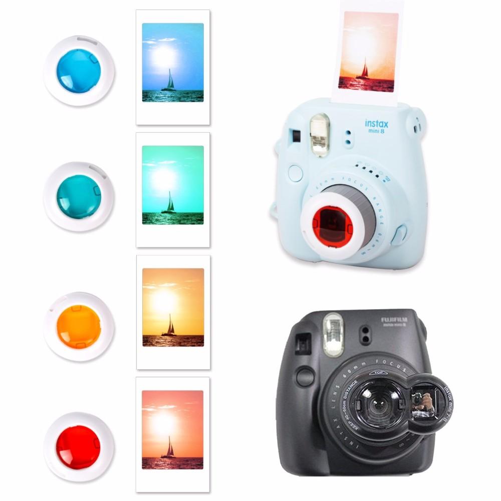 Accessories for Fujifilm Instax Mini 8 Camera Case, Leather Camera Bag +adjustable Strap/Selfie Lens/Filters/Album and more