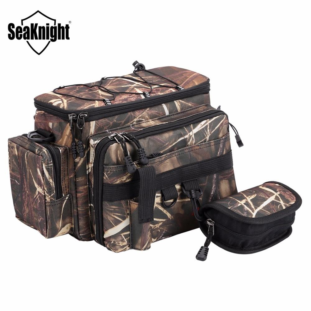SeaKnight Multifunctional Fishing Bag Nylon Waist Shoulder Lure Tackle Messenger Outdoor Sport Bags
