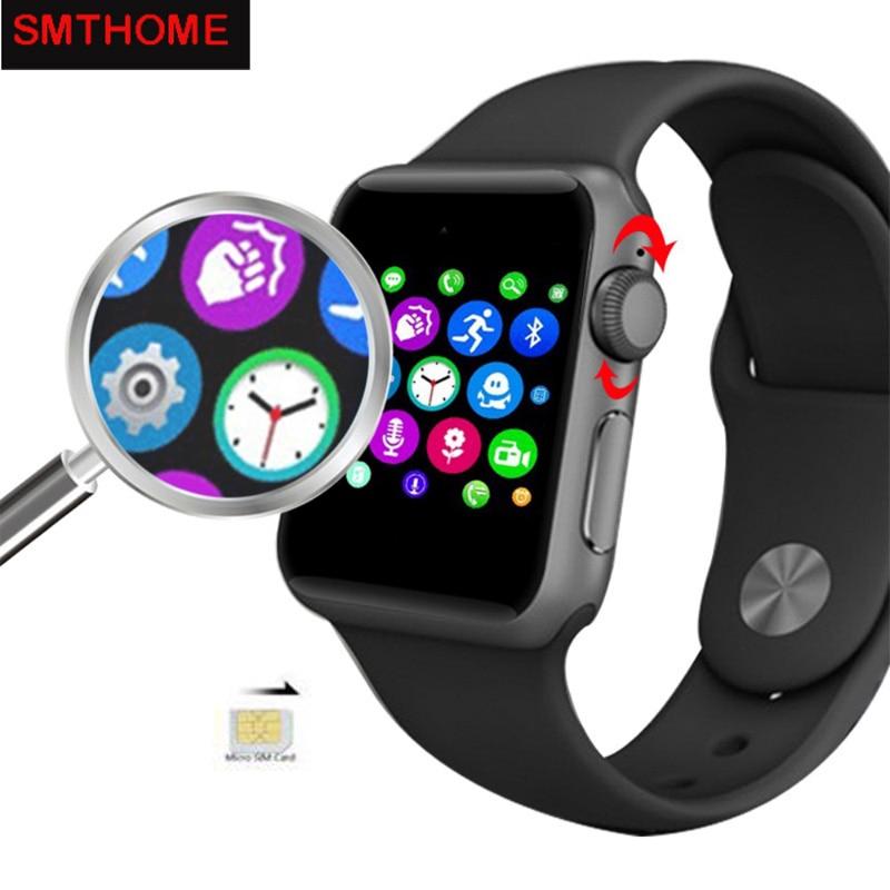 Bluetooth Smart Watch DM09 LF07 2 5D ARC HD Screen Support SIM Card Smartwatch For Iphone