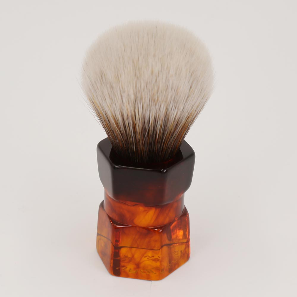 где купить Yaqi 24mm Moka Express Synthetic Hair Shaving Brush дешево