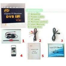 Автомобильный DVB-T2 MPEG-4 H.264 HD 1080P цифровой автомобильный тв-тюнер DVB T2 автомобильный для Европы Юго-Восточной Азии России