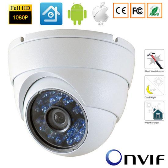 1080P Mini Wired Network IP Camera ONVIF 2.0 Waterproof Indoor IR CUT Night Vision P2P Plug and Play Security Camera-xmeye 1280 720p 1 0mp 36pcs ir leds ip camera onvif 2 0 waterproof outdoor ir cut night vision p2p plug and play